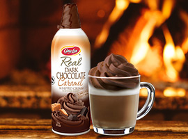 Picture of Dark Chocolate Caramel Whipped Cream