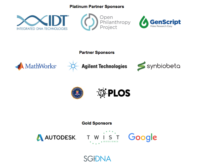 iGEM 2017 sponsor recognition image