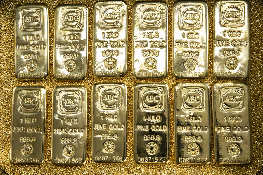 ABC Bullion 1kg gold bars