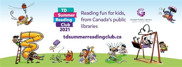 TD Summer Reading Club advertisement.
