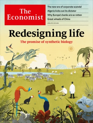 The latest issue of The Economist