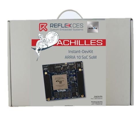 Achilles Arria 10 SoC Dev Kit - REFLEX
