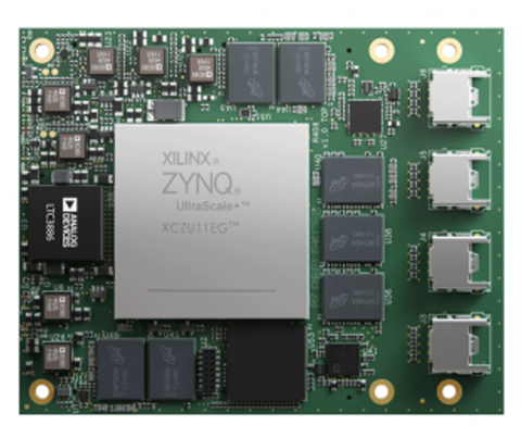 'Zeus' Zynq UltraScale+ MPSoC System-on-Module - UK Supplier