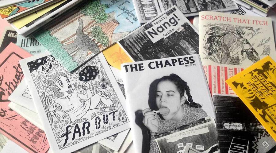 Zine-Making workshop with Surrey Art School at The Boileroom, Guildford on Tues 14th August