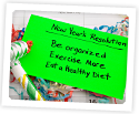 Photo of a New Year's resolution