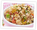 Photo of: Quinoa Salad with Grilled Vegetables and Cottage Cheese