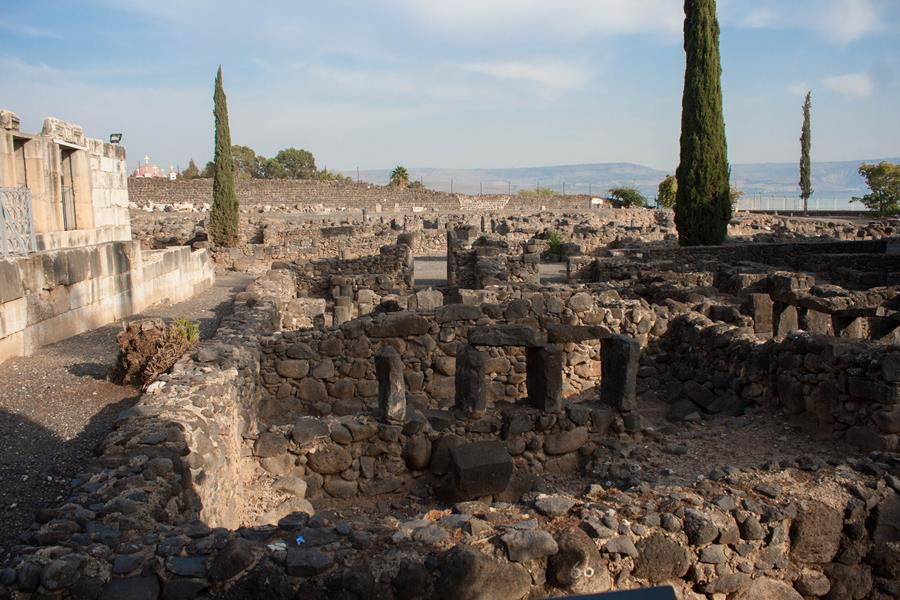 Capernaum Explore Israel Travel with Purpose Maranatha Tours