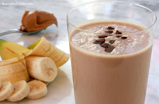 Chocolate Peanut Butter Hangover Smoothie
