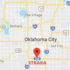 Map of Straka Pharmacy location