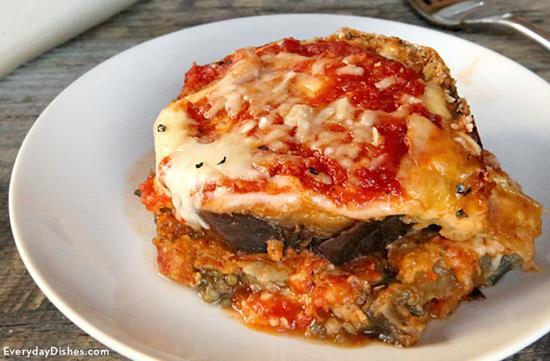 Baked Eggplant Parmesan