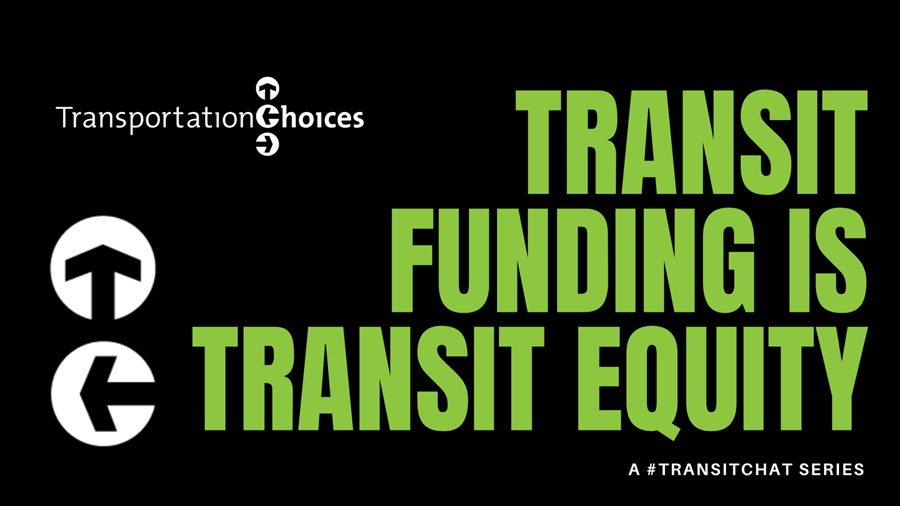Transit funding is transit equity