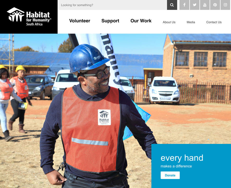 HFHSA Website 'New Look'