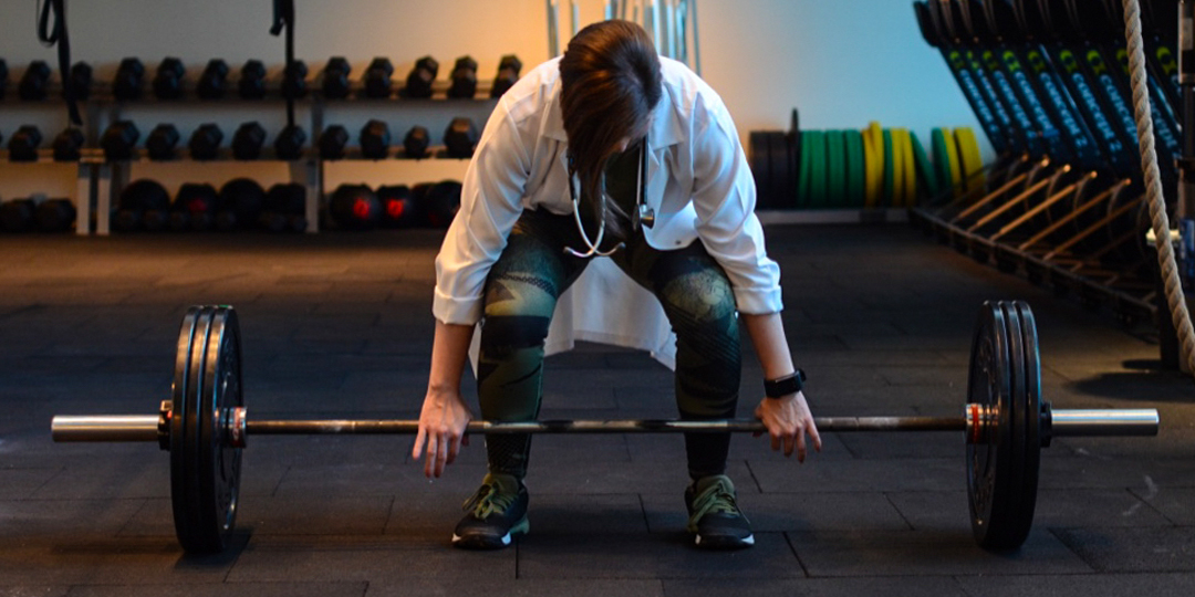 Meet Dr. Mariam Tashkandi: The Doctor who Consults With Patients Between Burpees