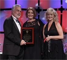 Gayle Bowen Winning Platinum Award