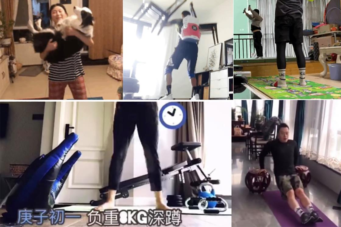 Chair Thrusters and Goblet Squats with Pets: How Chinese CrossFitters are Working Out During the Coronavirus Lockdown