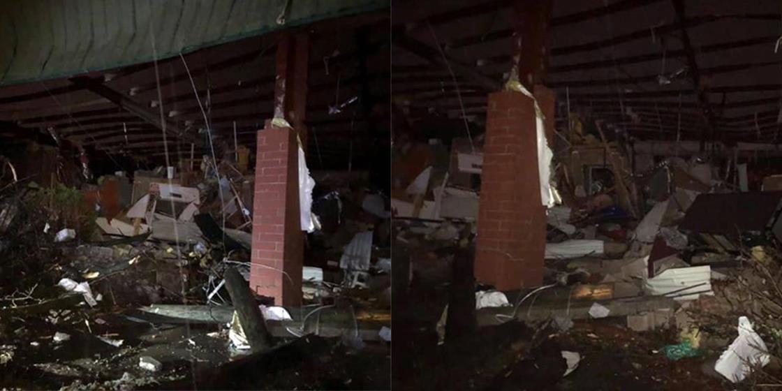 Tornado Rips through Tennessee, Hits CrossFit Hermitage. Mayhem, Others OK.