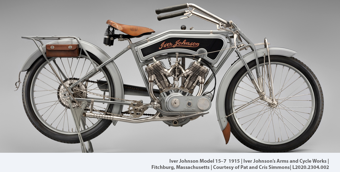 Early American Motorcycles, Iver Johnson Model 15-7 1915