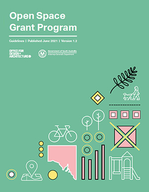 Cover of Open Space Grant program Guidelines document