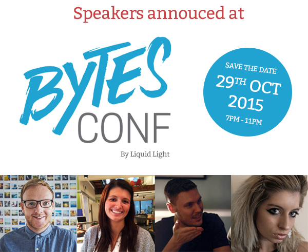 Speakers announced at Bytes Conf
