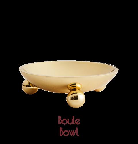 Boule Bowl Brass