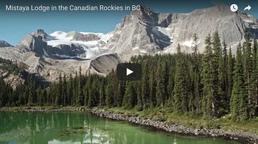 Mistaya Lodge in the Canadian Rockies video