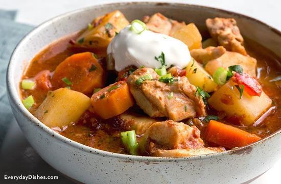 Slow Cooker Chipotle Chicken Stew
