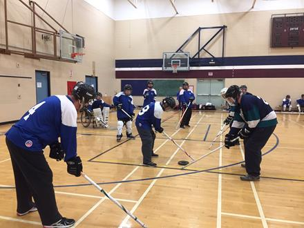 Floor hockey Prince George Quesnel