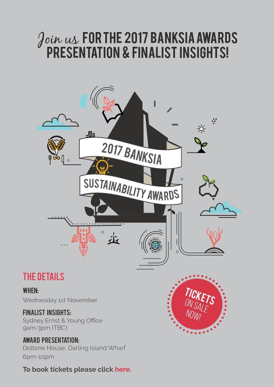 Banksia Awards presentation night