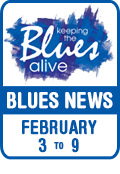 Keeping The Blues Alive brings you Blues News. Week of February 3rd to 9th.
