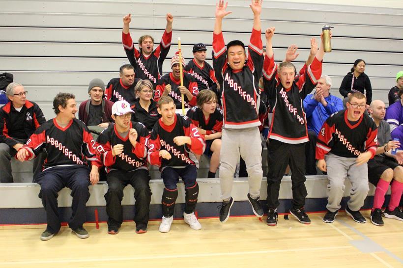Special Olympics BC - Abbotsford floor hockey