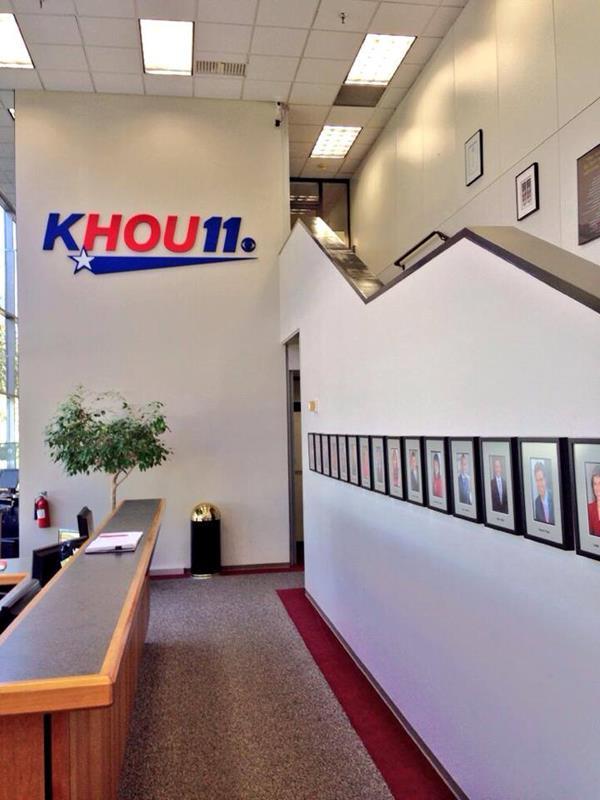 KHOU TV Station Front Desk Image