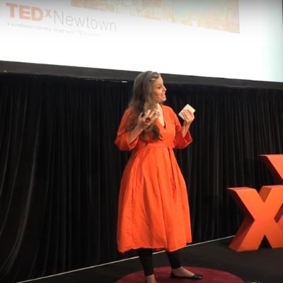 Kate Harris Presents Materials Matter at TEDxNewtown