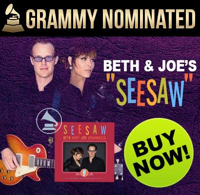 Beth & Joe's Grammy Nominated 'Seesaw'. Buy Now!