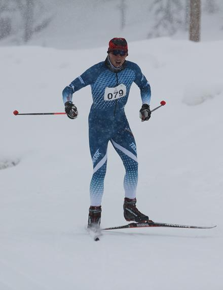 Special Olympics BC - Kelowna cross country skier Francis Stanley
