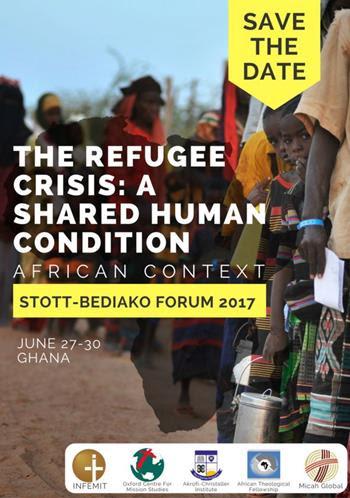 Le forum Stott Bediako 2017 aura lieu à Akropong Akuapem, Ghana. Michée Mondial soutient cette conversation vitale avec notre membre INFEMIT et les autres partenaires. Ce forum étudiera les causes, expériences et réponses de la « Crise des réfugiés » en Afrique. À partir des réflexions du forum 2016