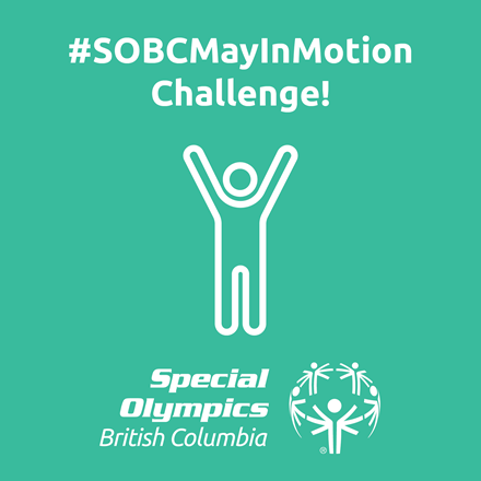 Special Olympics BC May in Motion icon