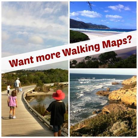 Walking Maps website