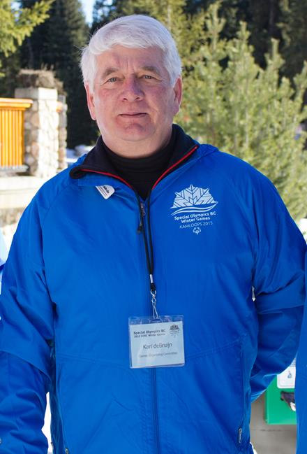2017 SOBC Games Chair Karl deBruijn