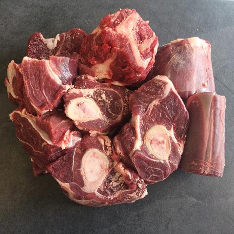 Male Goat Diced ON