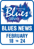 Keeping The Blues Alive brings you Blues News. Week of February 18th to 24th