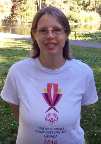 Special Olympics Health Messenger Jennifer Ferrier