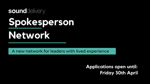 Spokesperson Network logo with closing date of 30 April