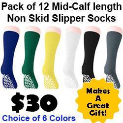 Non Skid Slipper Socks