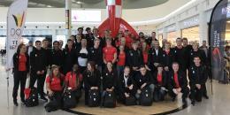 Le Team Belgium en route pour Buenos Aires