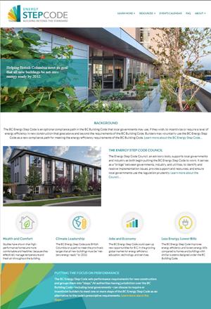 BC Energy Step Code website
