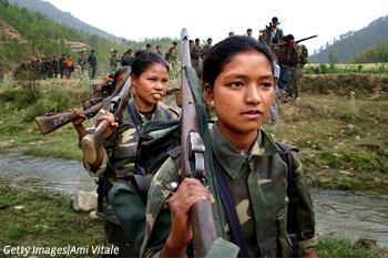 Women peaceful