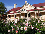 North Bundaleer homestead in the Clare Valley