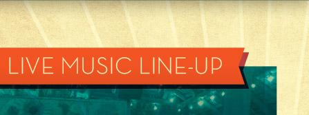 Live Music Line-Up