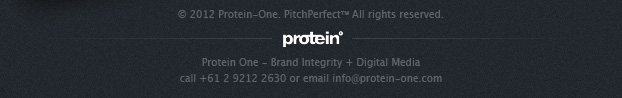 Protein One - Brand Intergrity