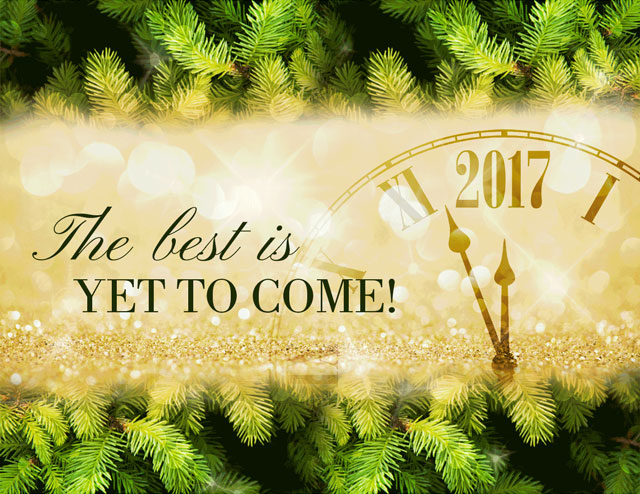 The Best Is Yet to Come!
